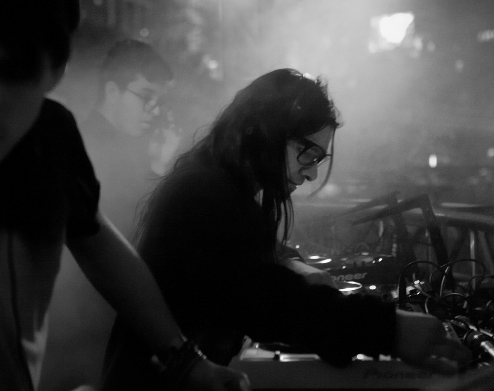 Skrillex with Alvin Risk
