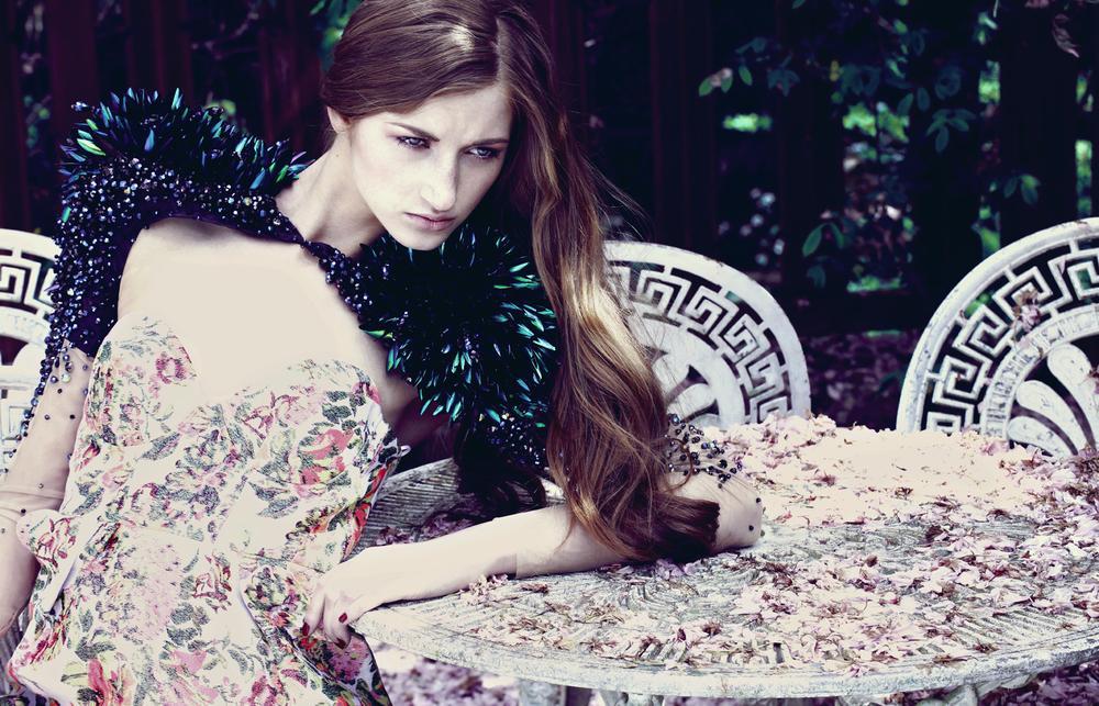 Dress  Stella McCartney at Montaigne Market   Embroidered Shoulder  On Aura Tout Vu