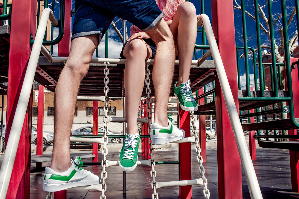 Shorts: G-Star RAW Styling: Sarah Gentillon Models: Dasha and Brandon at Fusion