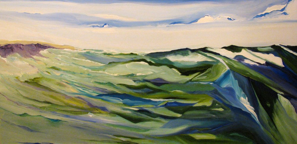 """"""" On the Water"""" oil on canvas 36"""" x 48"""""""
