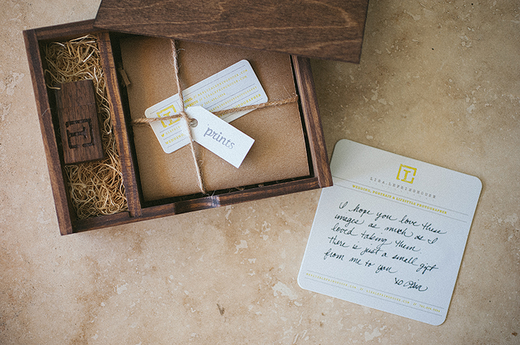 My New Identity Client Packaging Lisa Lefringhouse Photography