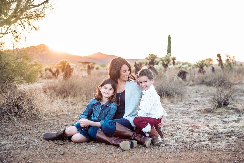 desert family portraits