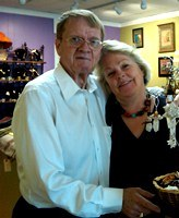 Philip and Sara Dail are owners of Beleza, a fair-trade boutique located in Cameron Village