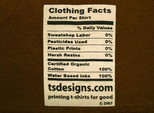 Organic cotton produced by TS Designs in Burlington, NC. Photo credit:http://inhabitat.com