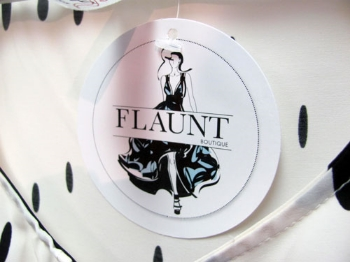 Aura Salons features items from Jessica Lamar's boutique, Flaunt. The boutique and salon have partnered together to provide hair, makeup, and wardrobe for area fashion shows and events.