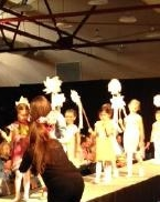 My view of the Little Grey Line collection from the end of the runway!