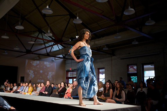 Redress Spring 2014 Fashion Show featuring design by Leopold Designs. Photo credit: Carl Tyer