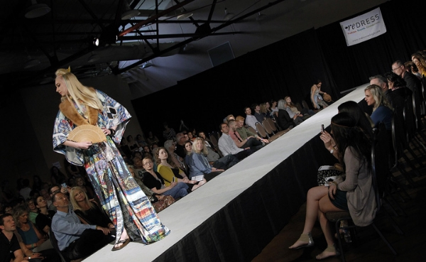 Redress Spring 2014 Fashion Show featuring design by RIVTAK. Photo credit: Carl Tyer