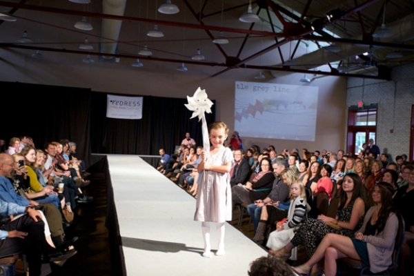 Redress Spring 2014 Fashion Show featuring design by Little Grey Line. Photo credit: Carl Tyer