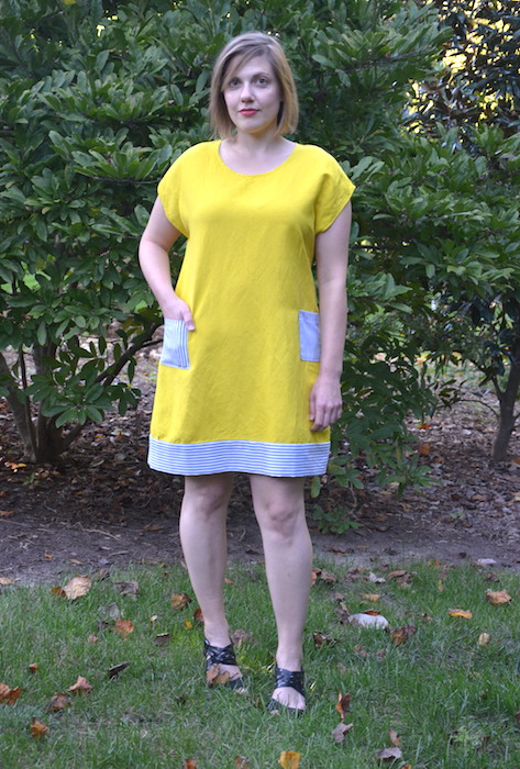 A Sunday Shift dress sample