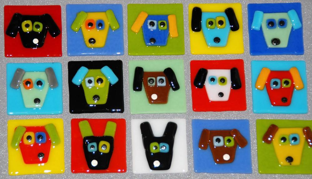 dog face tiles tack fused 2.JPG