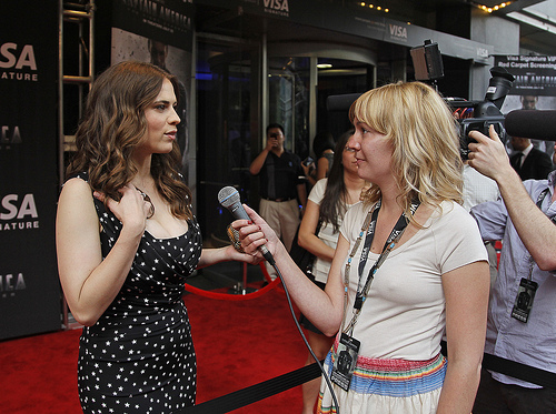 Interviewing Haley Atwell
