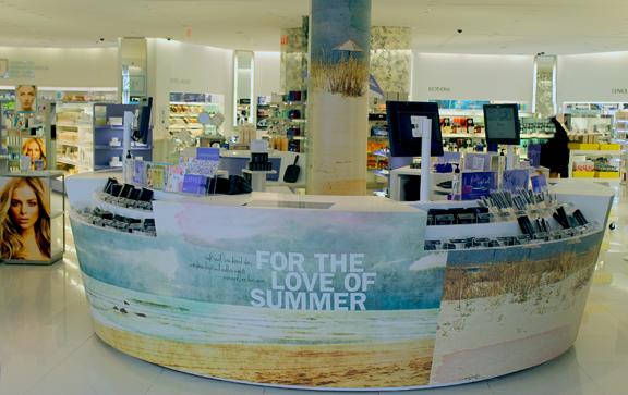 Murale Summer 2914 Cash Desk