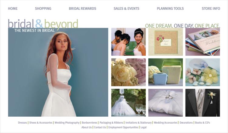 Bridal & Beyond Home Page