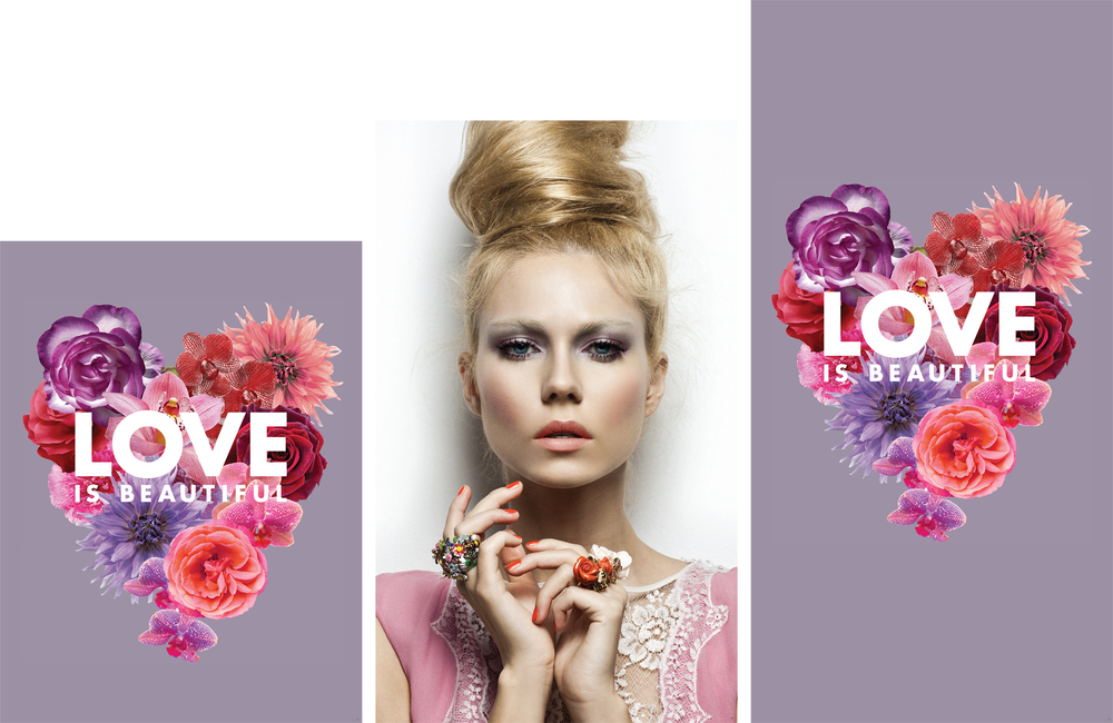 Murale Valentines 2015 Merchandising Cubes
