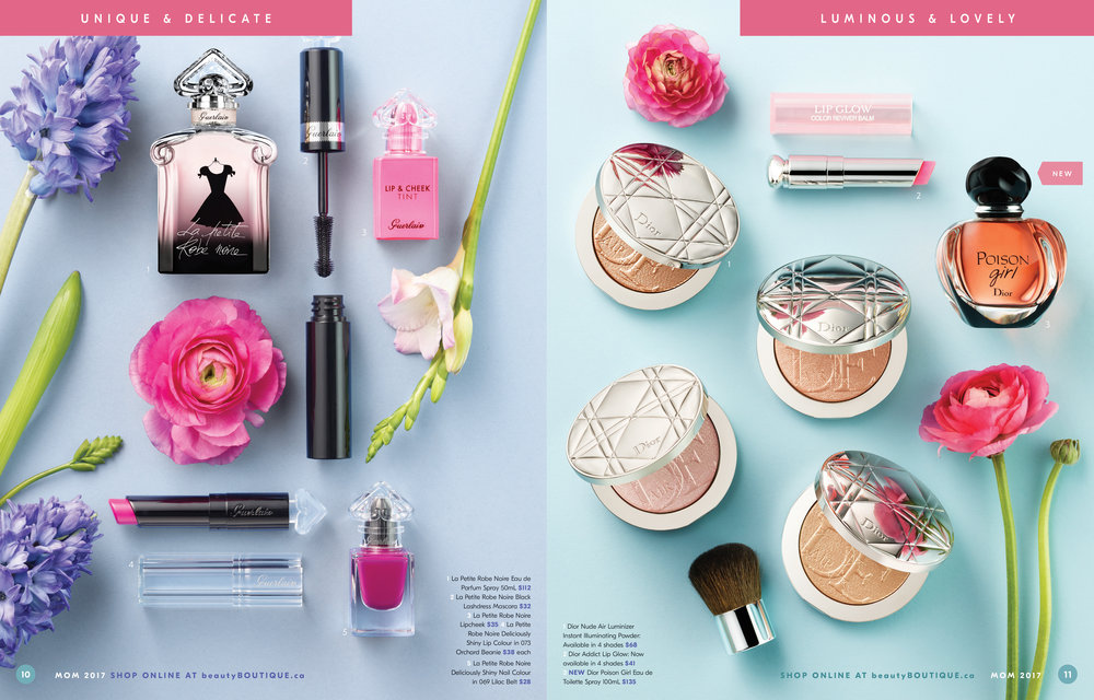 Shoppers Drug Mart Mother's Day 2017 Gift Guide Sample Spread 1