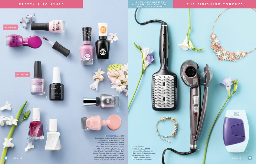 Shoppers Drug Mart Mother's Day 2017 Gift Guide Sample Spread 3