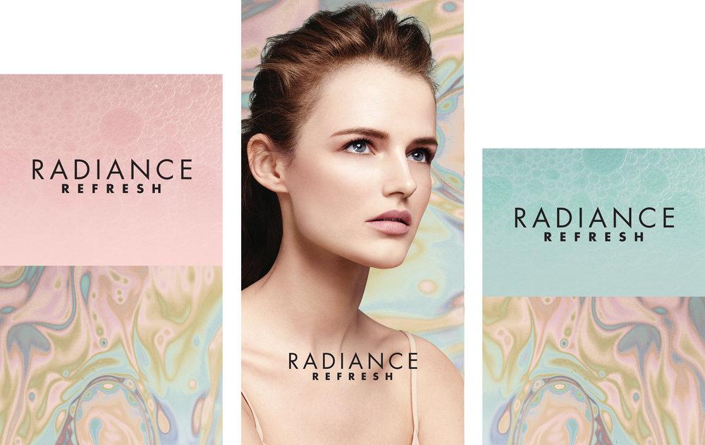 Murale Winter Skin 2018 Merchandising Cubes 18 x 30, 18 x 36, 18 x 24