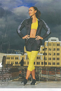 Grazia   'The Olympics showed women they can be sporty and glamorous'