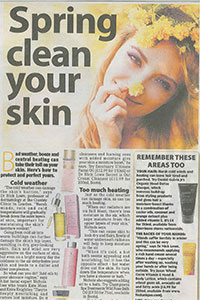 Daily Mirror   'Spring clean your skin'