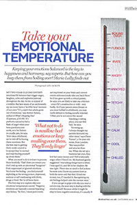 Red   'Take your emotional temperature'