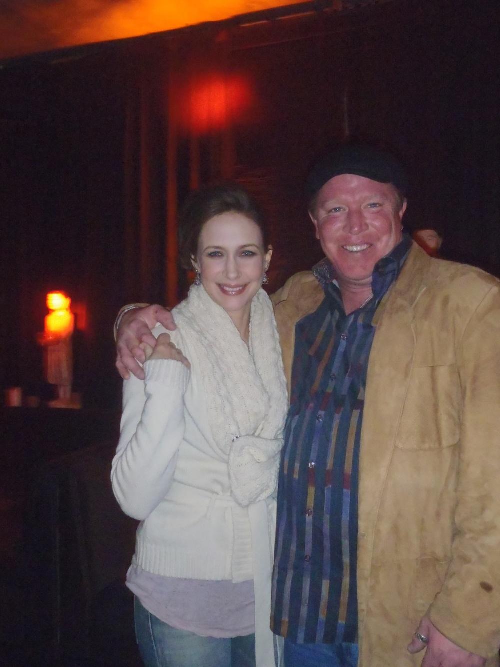 2012 Sundance - Vera Farmigia & Brian Quattrini - Premiere of Goats.JPG