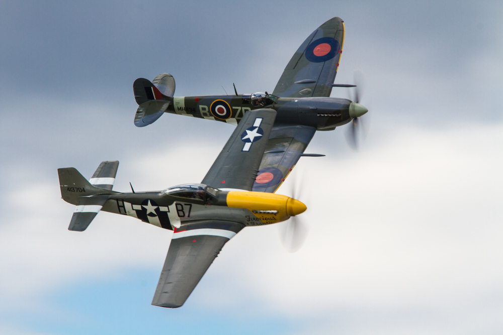 Mustang and Spitfire