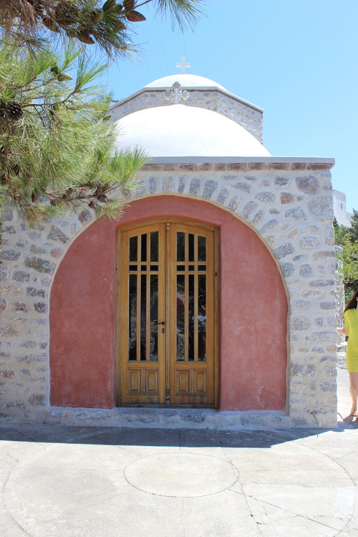 door of a monastery