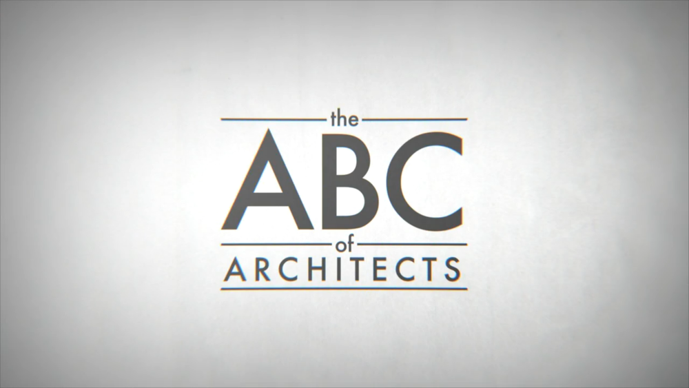 The ABC of Architects: Andrea Stinga, Federico Gonzalez