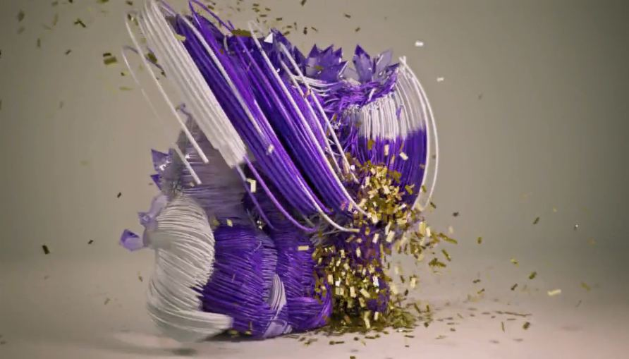 Motion capture particle compositing: Cadbury: Enjoy the moment
