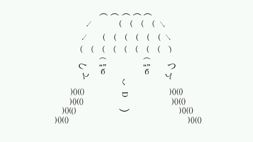CHANNELER: Takashi Ohashi: Ascii Animation