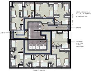 PHI GAMMA DELTA FRATERNITY HOUSE — JON HENSLEY ARCHITECTS