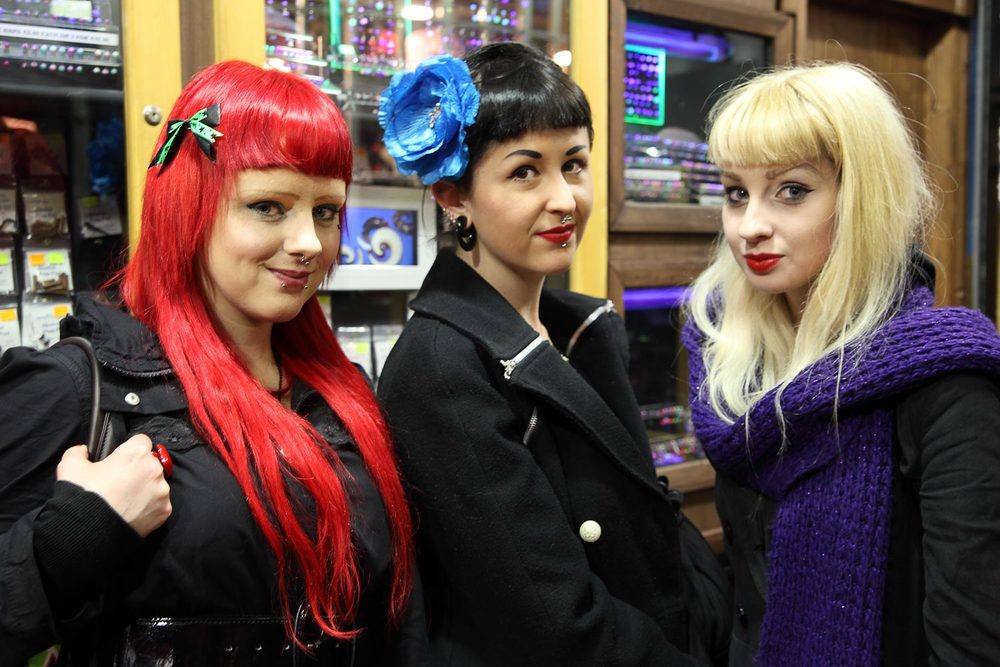Girls at Liberty Market, Dublin