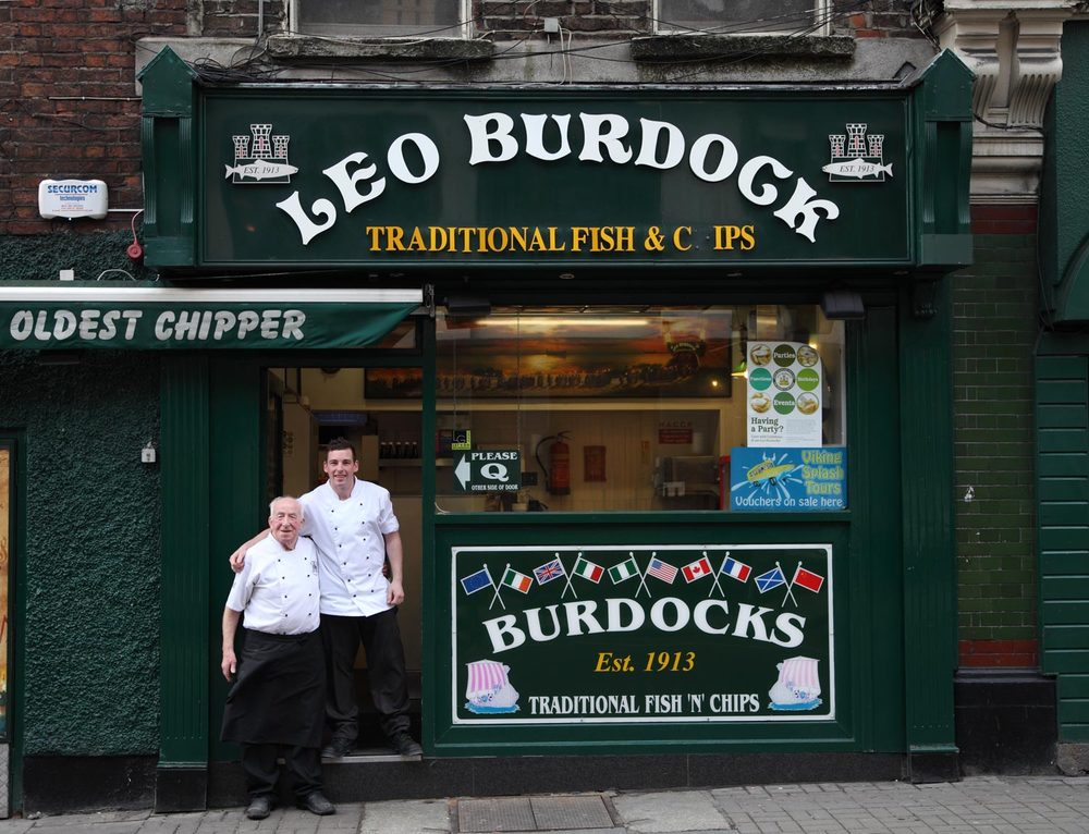 Leo Burdock, Best Fish'n Chips in Dublin