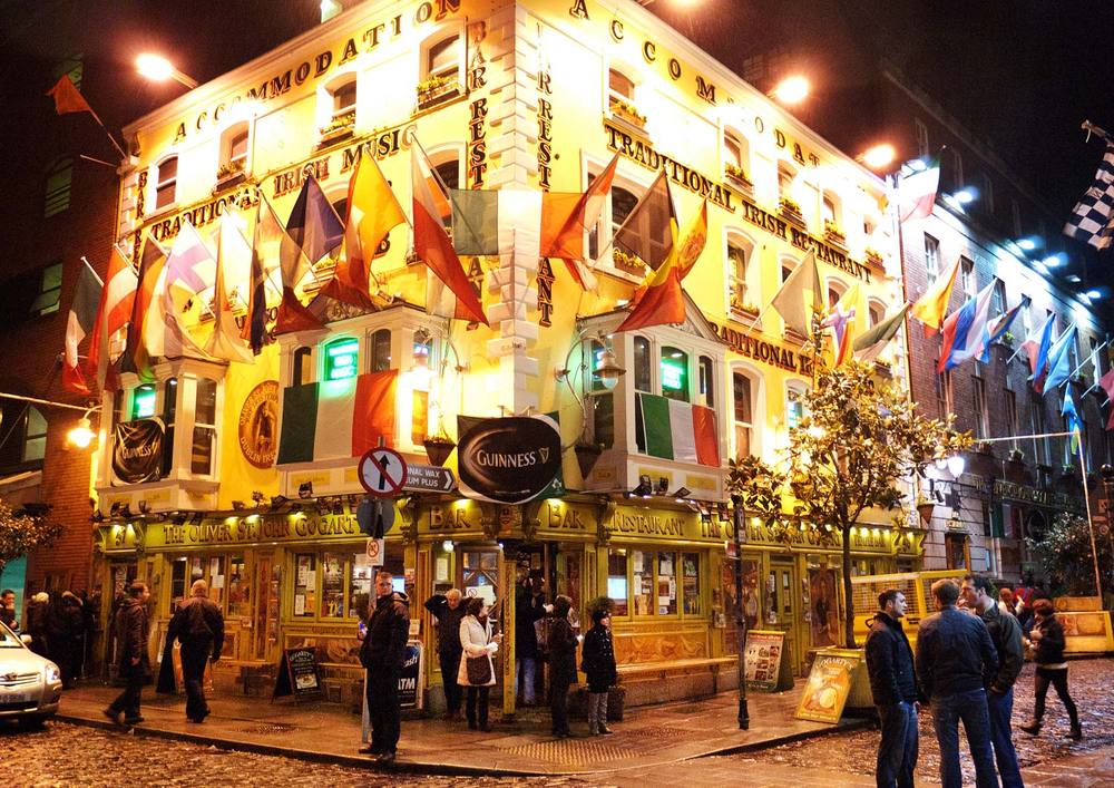 The Oliver St. John Gogart Bar, Dublin