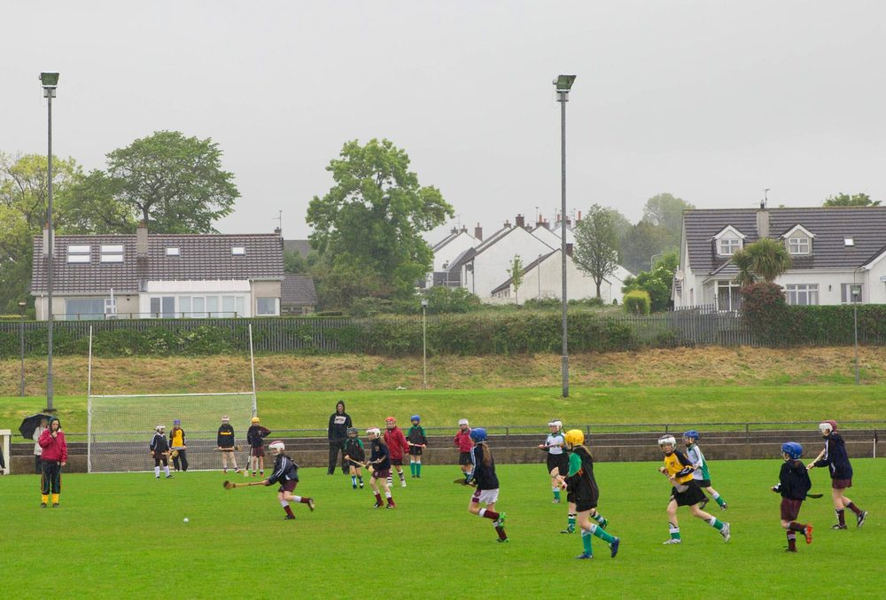 Hurling Game, County Antrim, Northern Ireland