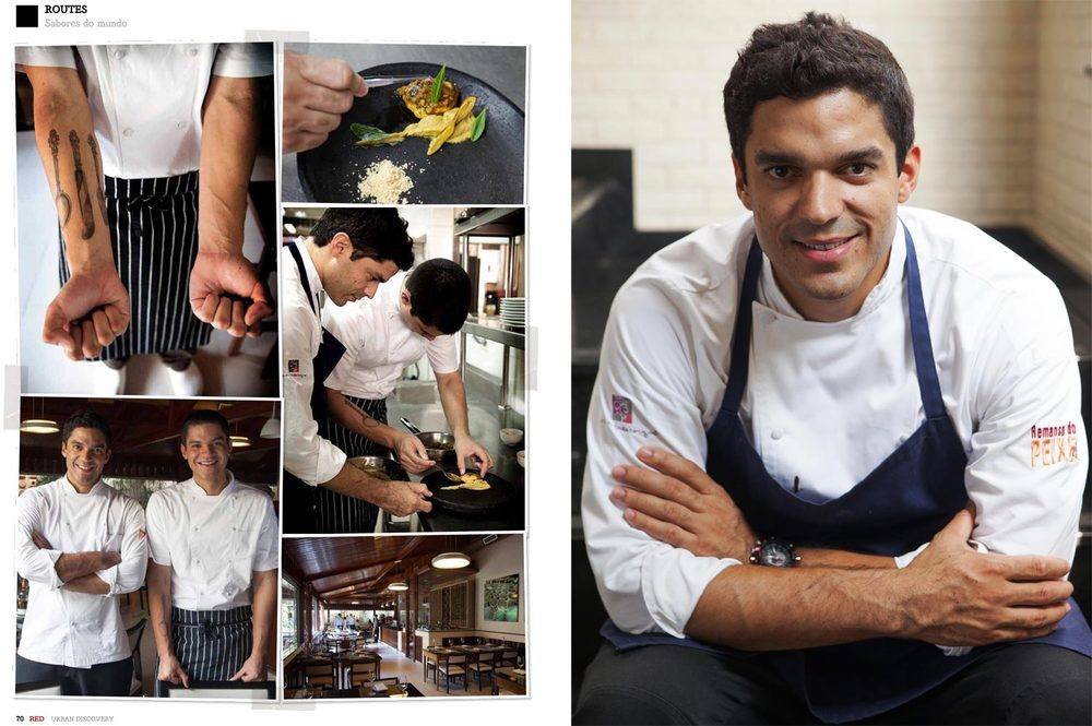 Chef Thiago Castanho e Chef Felipe Castanho