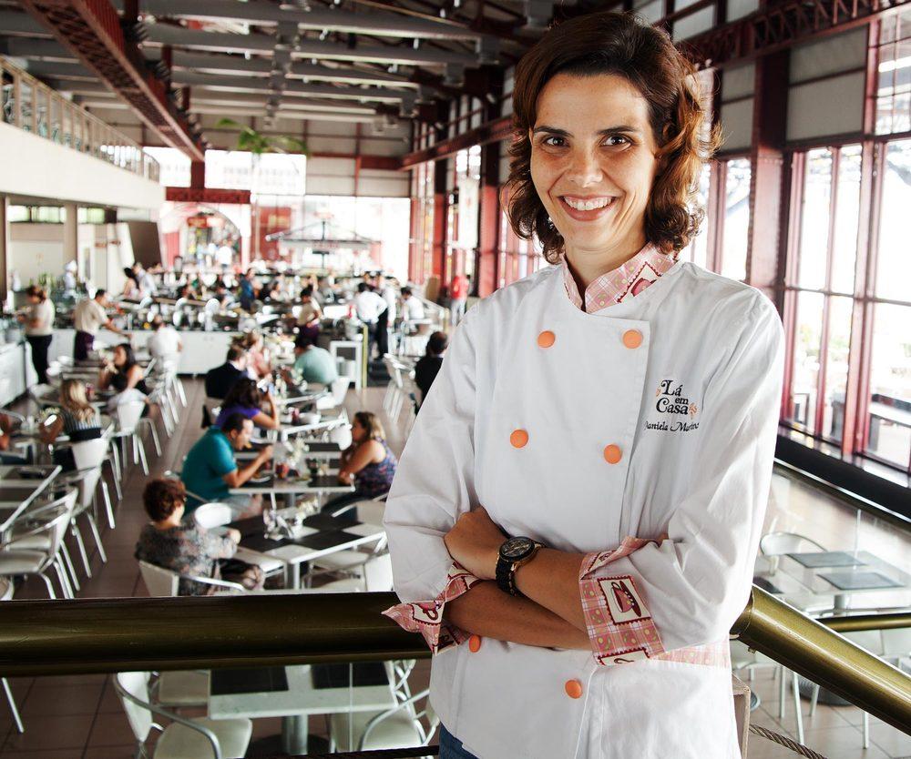 Chef Daniela Martins, Lá em Casa Restaurant