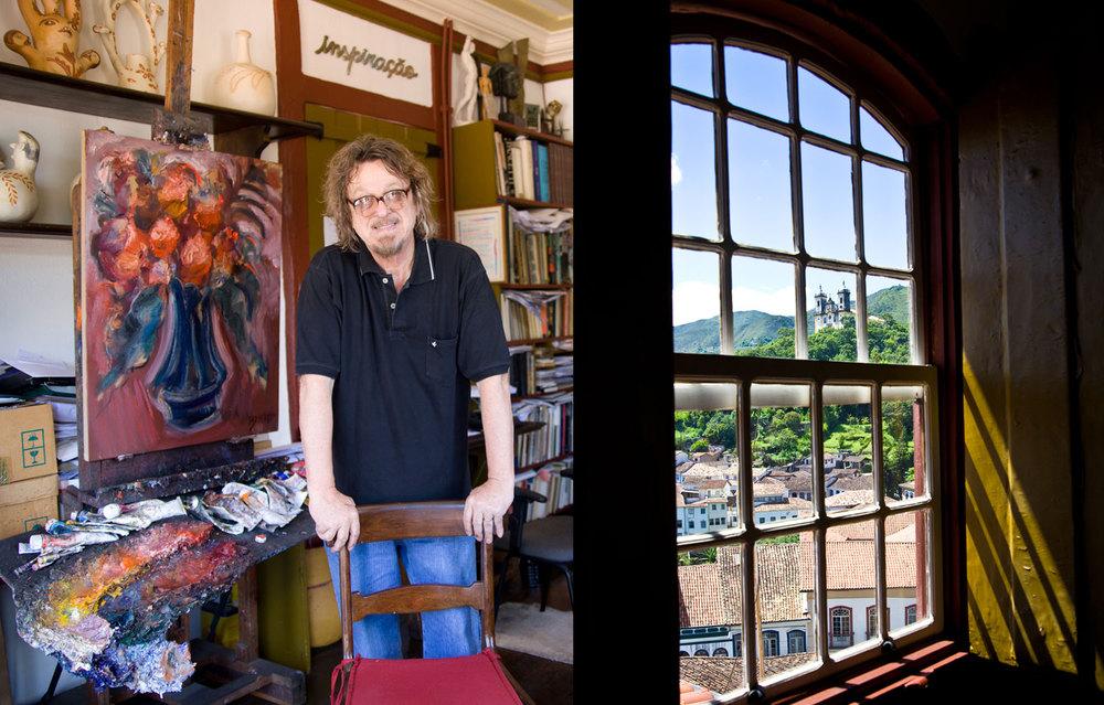 Bracher, Artist, Ouro Preto