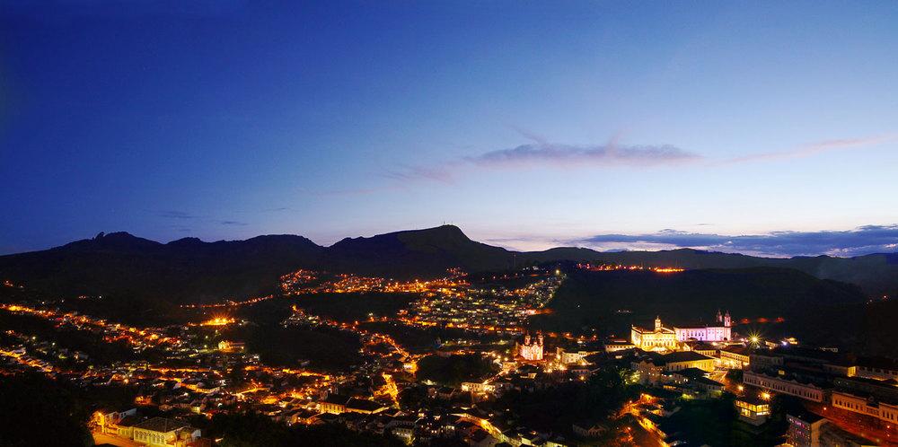 Sunset in Ouro Preto
