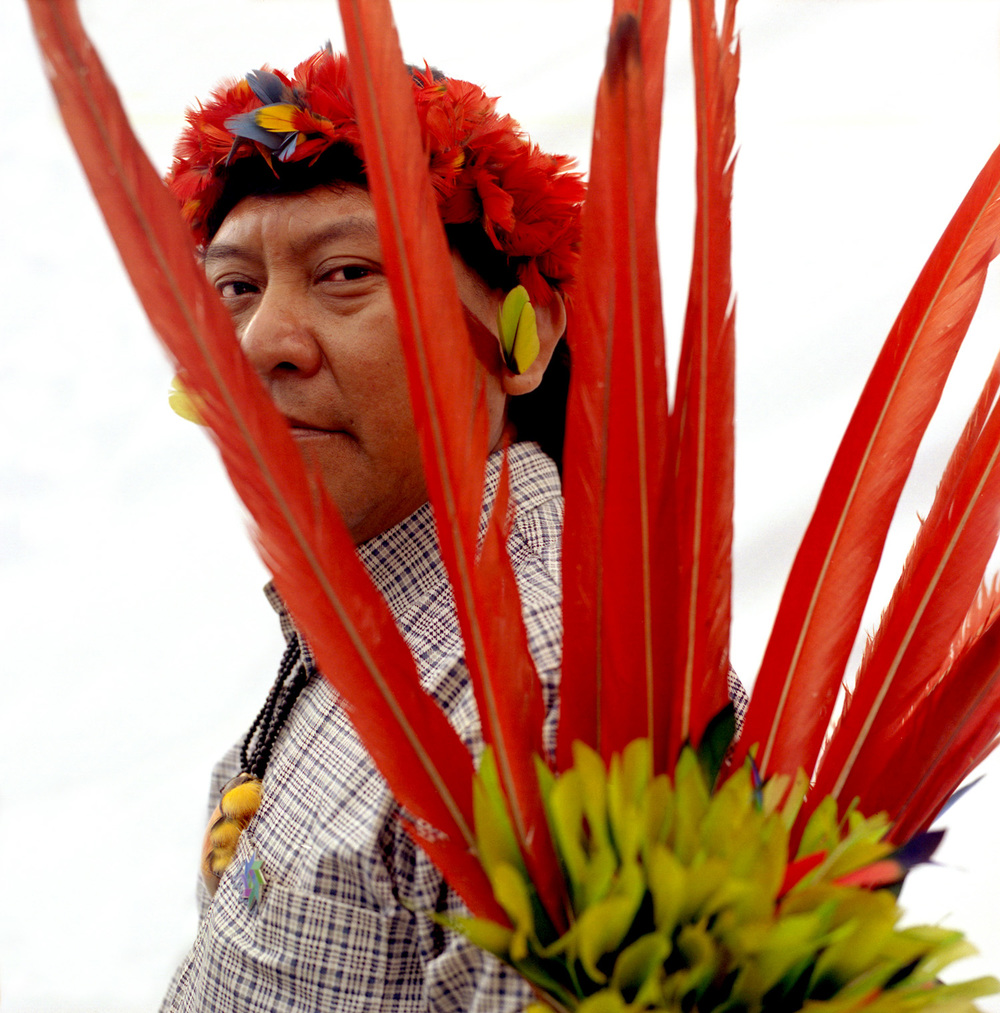 Davi Kopenawa, Ianomami Chief