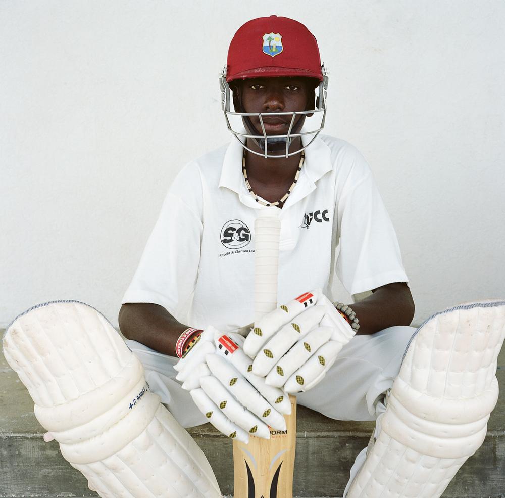 Cricket player, Barbados