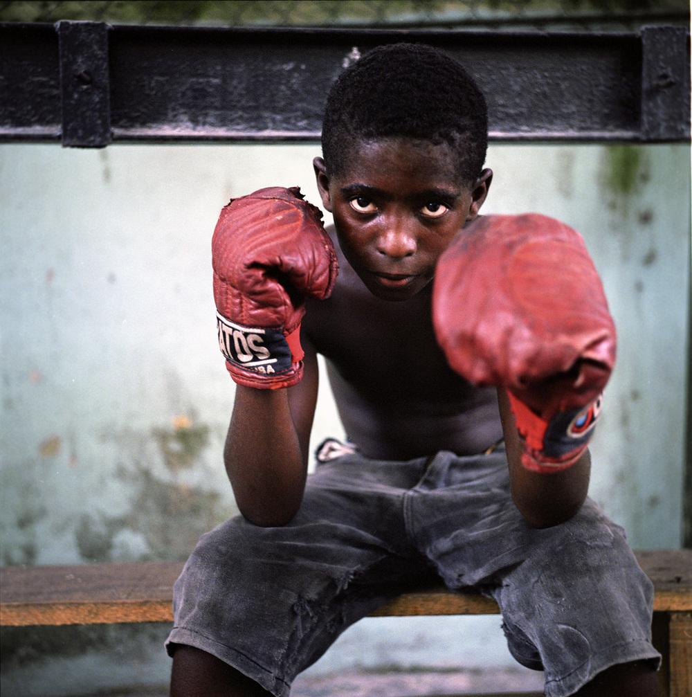 The kid boxer, Havana, Cuba