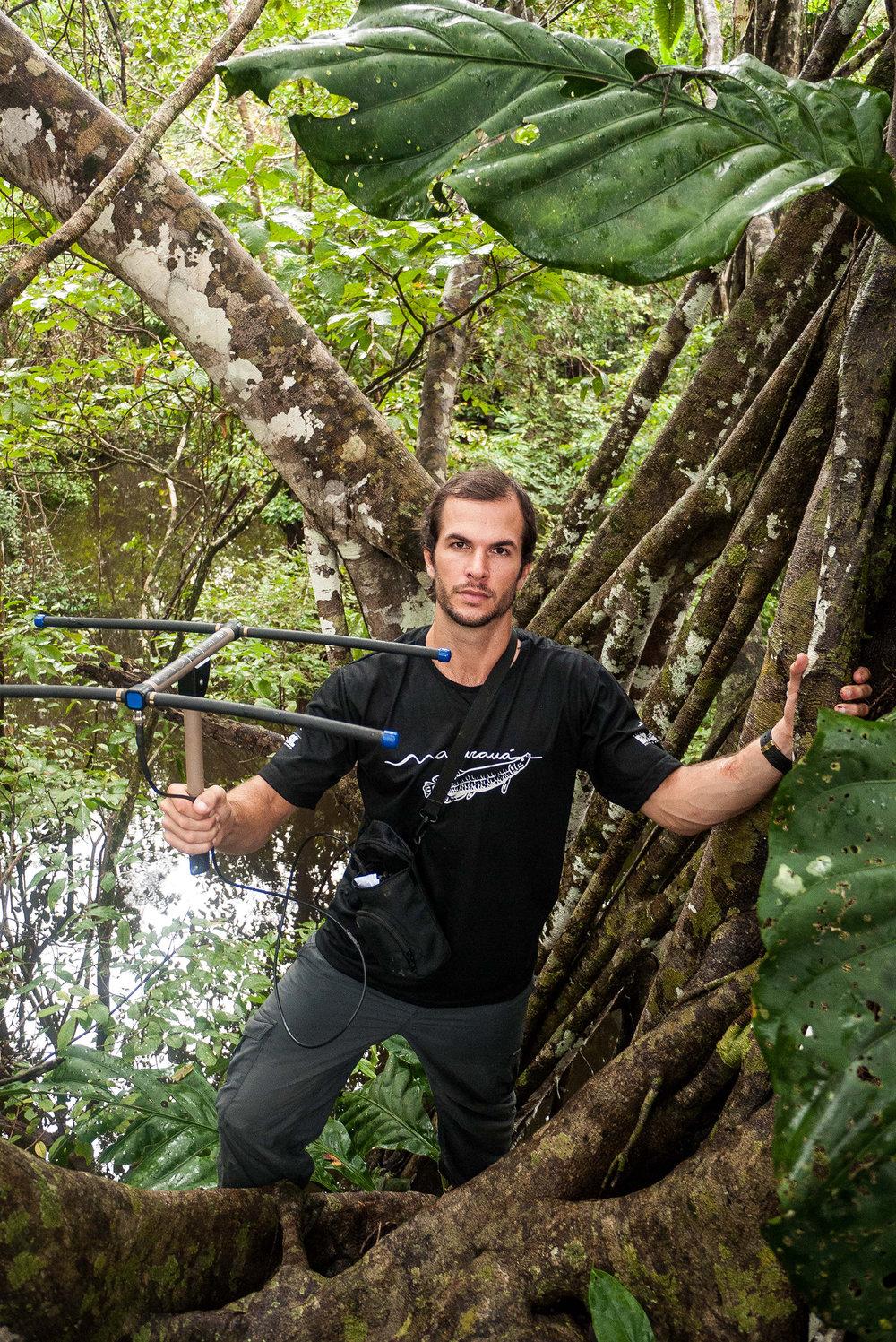 Emiliano Ramalho, Jaguar Researcher, Mamirauá Reserve