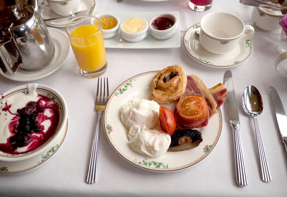 Irish Breakfast, Culloden Hotel, Belfast