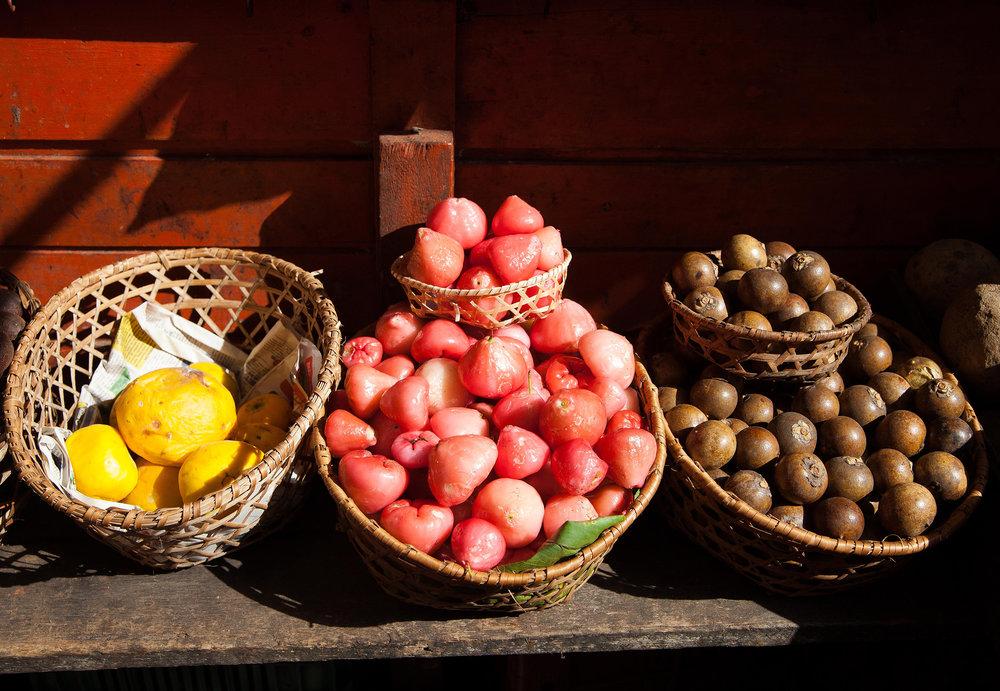 Fruits, Mercado do ver o peso