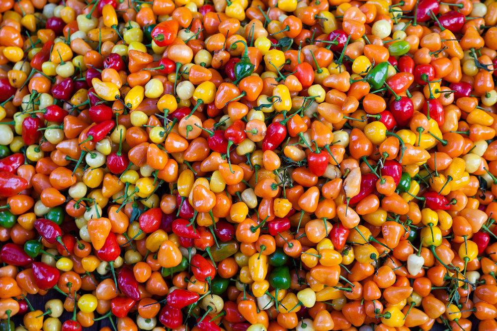 Pimentas, Mercado do ver o peso