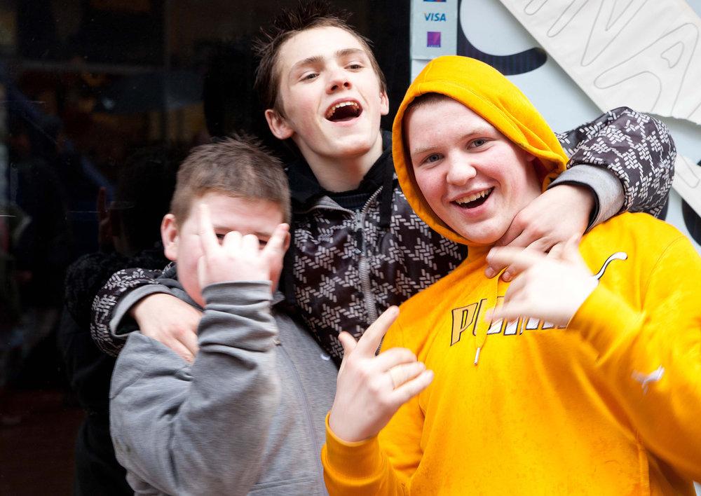 Kids in Belfast