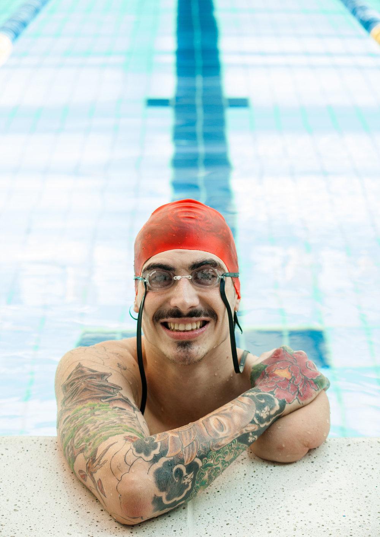Talisson Glock, Swimming