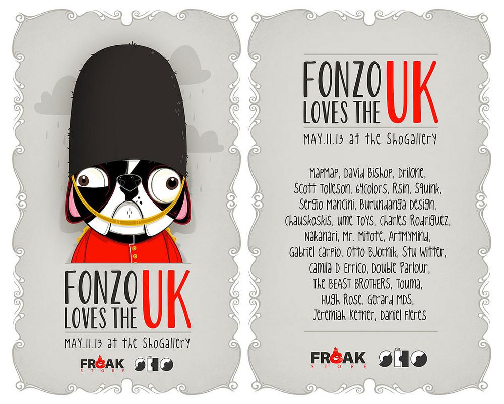 Fonzo loves the UK